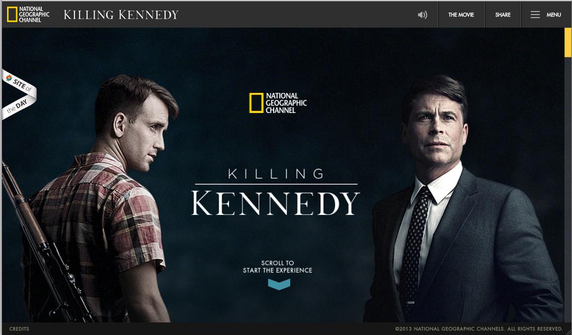 """Killing Kennedy"", an example of digital transmedia journalism"